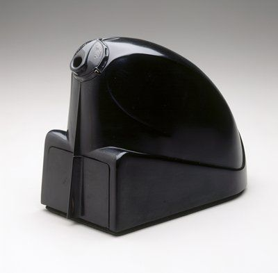 """Electro-Pointer"" pencil sharpener, c. 1943 Edward Hoffman; Manufacturer: Triple E Products Companyexpand_more"