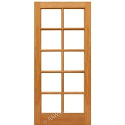 Mahogany 10 Lite Ext Mahogany French Doors 10 Lite Brazilian Mahogany French Door Prehung Interior Doors Wood Front Doors Rustic Doors