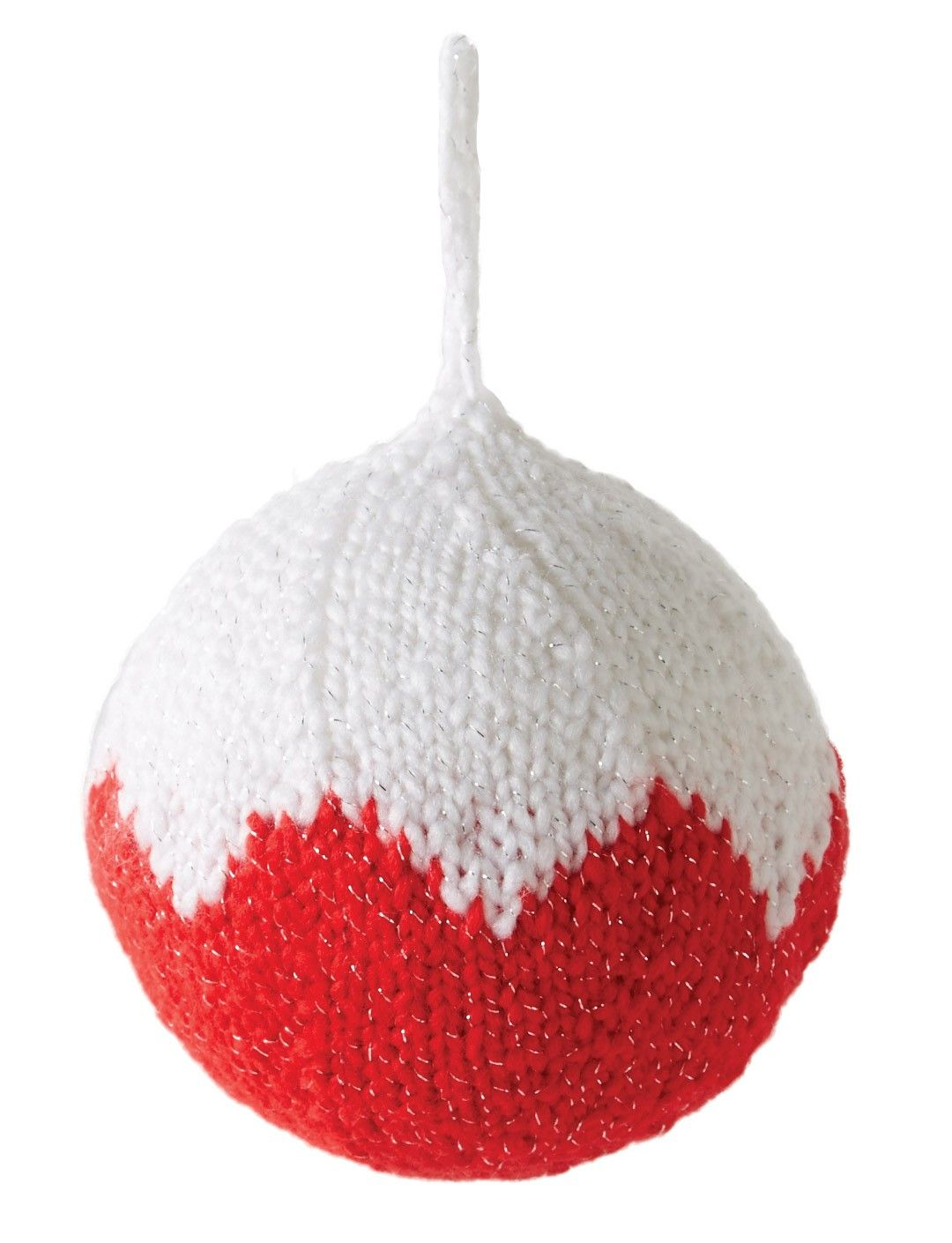 Knit Ornament - Free Pattern @ Yarnspirations   Knitted ...
