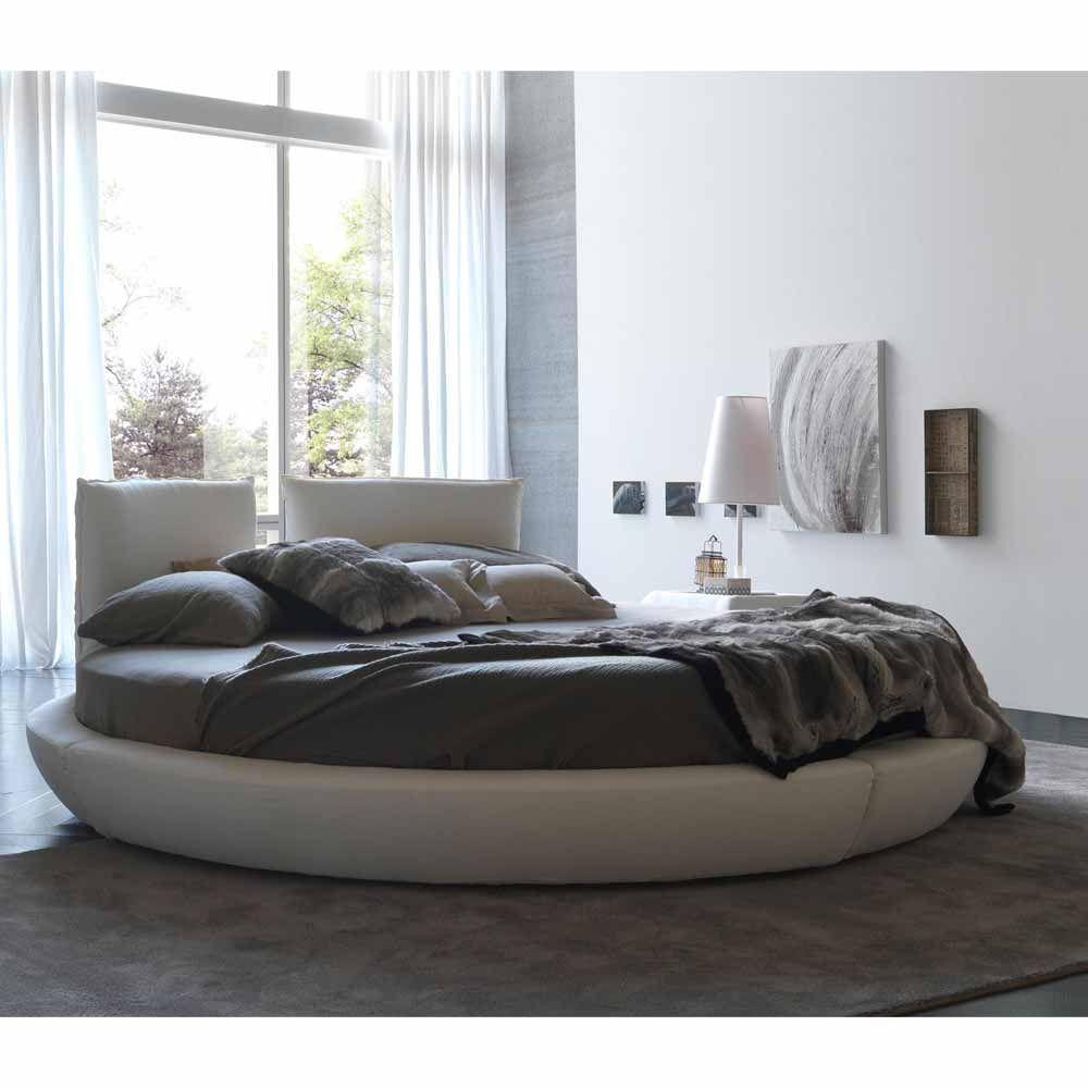 Rundbett maximo baumwollbezug wei in 2019 betten schlafsofas - Schlafzimmer italienischer stil ...