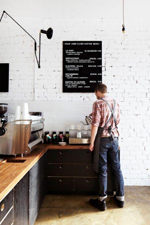 Office Kitchen The Design Files Coffee Shop Und Cafe Einrichtungen