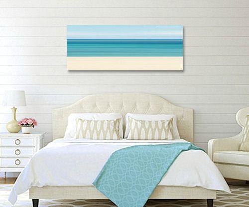 Above The Bed Wall Decor Ideas With A Coastal Beach Theme Ideas