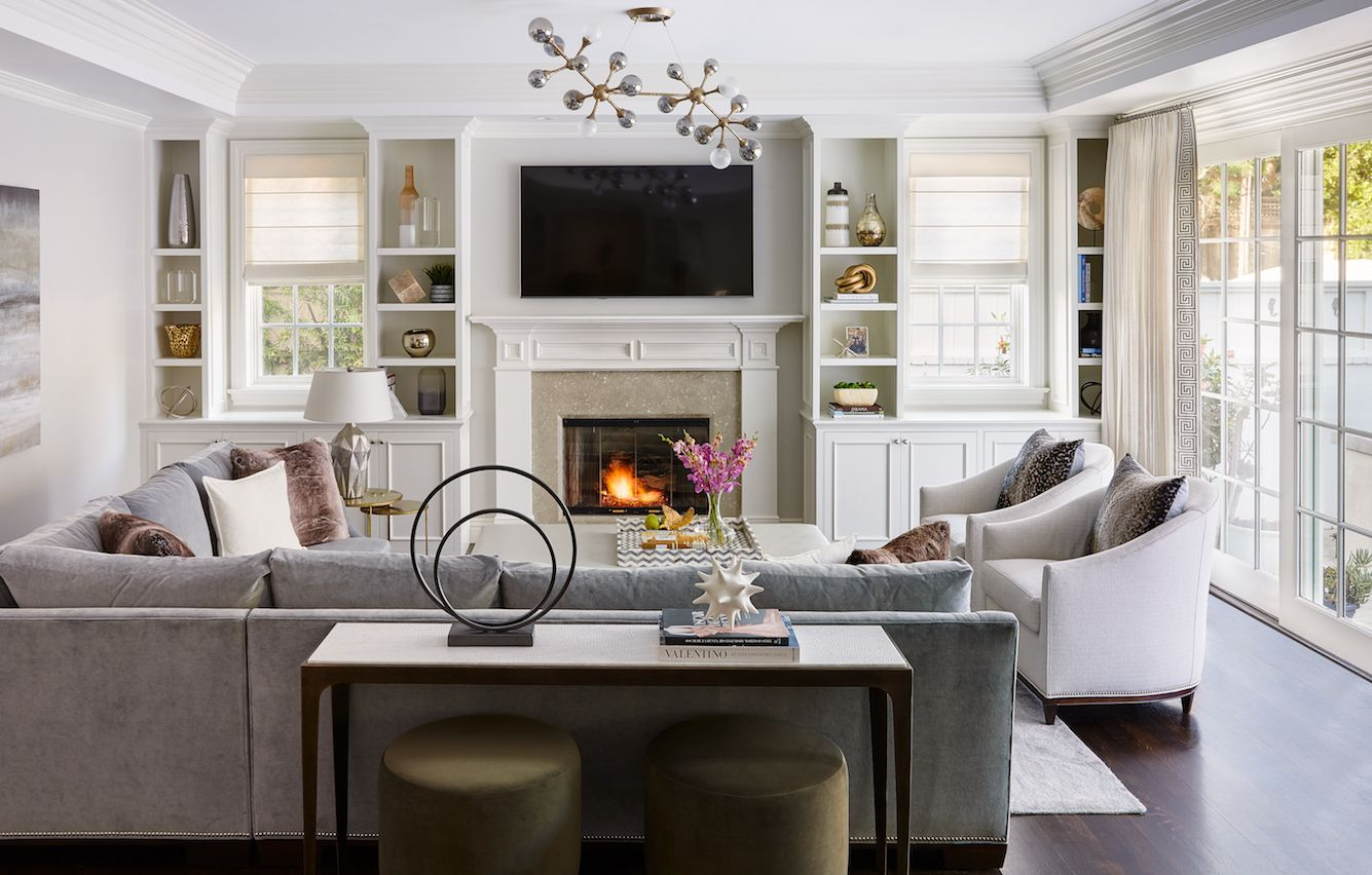 An Elegant Home for a Young Family  Family living rooms, Elegant