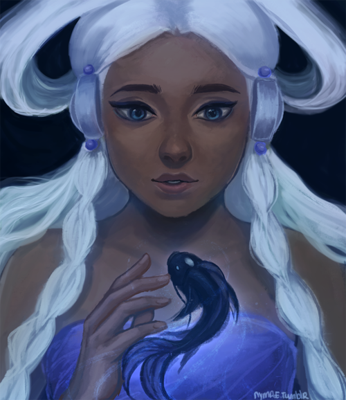 Avatar 2 Oceans: Moon Spirit Yue And Ocean Spirit Someone?? Idk I Was