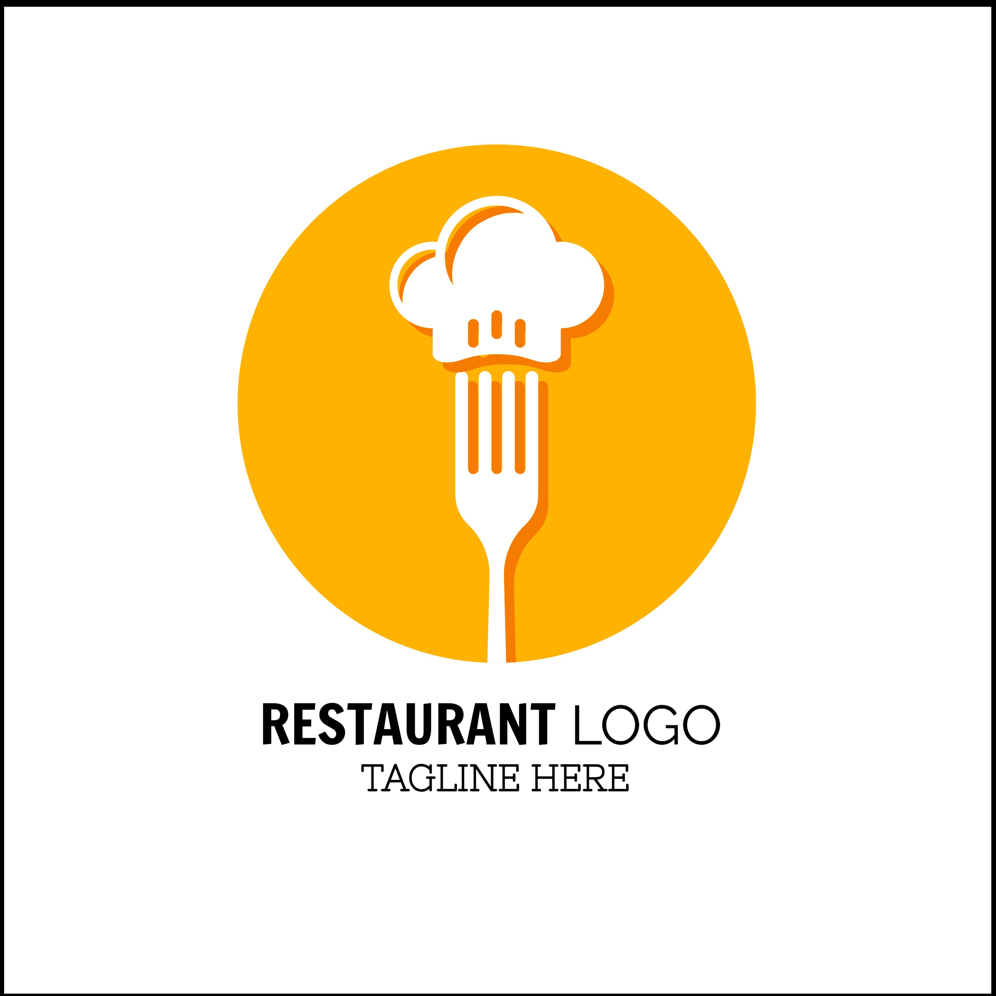 Restaurant Logo Template LD002 Logo restaurant, Logo