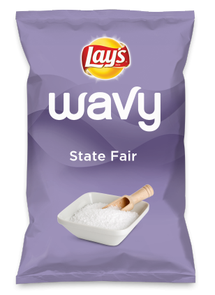 Wouldn't State Fair be yummy as a chip? Lay's Do Us A Flavor is back, and the search is on for the yummiest flavor idea. Create a flavor, choose a chip and you could win $1 million! https://www.dousaflavor.com See Rules.