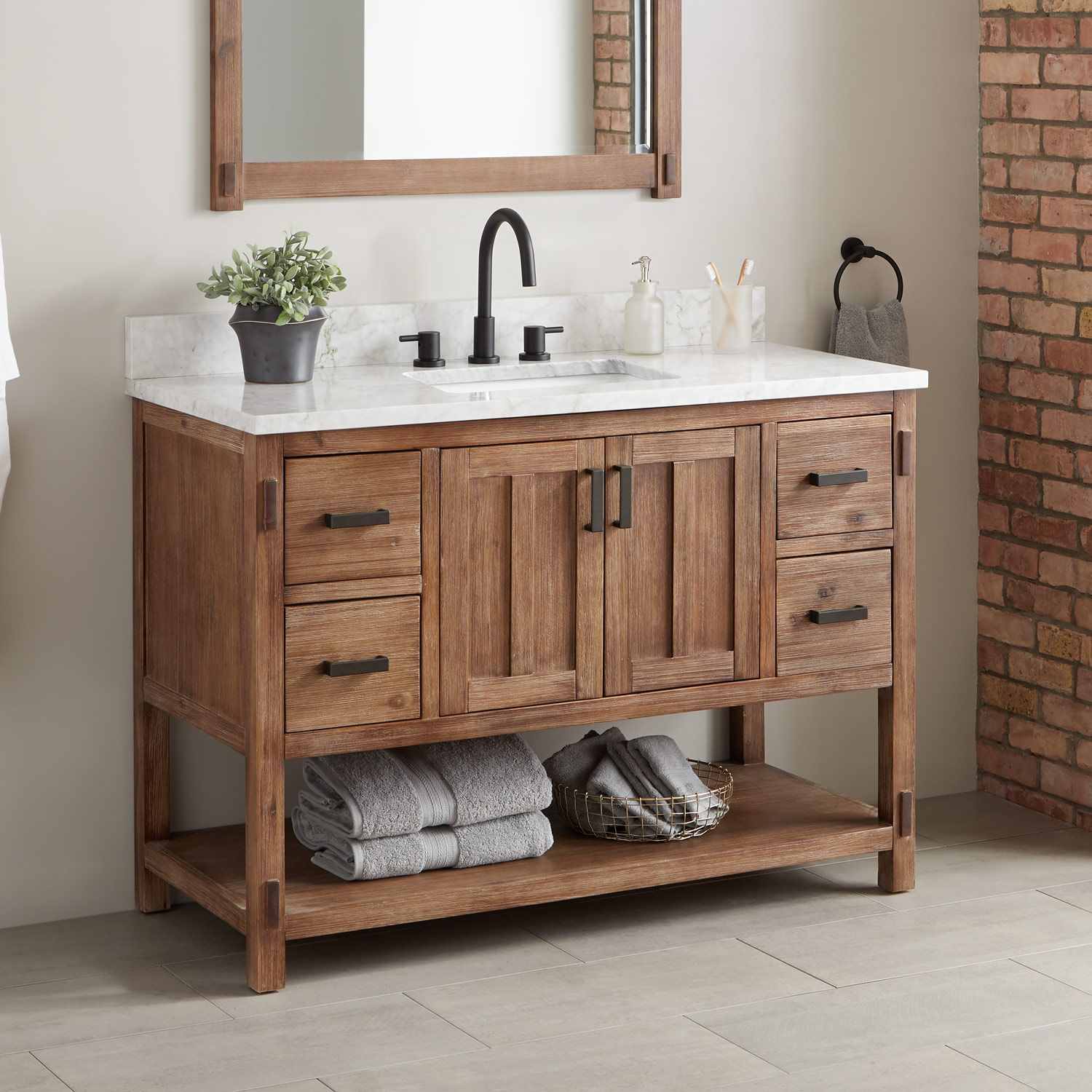 36 Morris Console Vanity For Rectangular Undermount Sink Bathroom Vanities Bathroom Wooden Bathroom Vanity Single Bathroom Vanity Vessel Sink Vanity