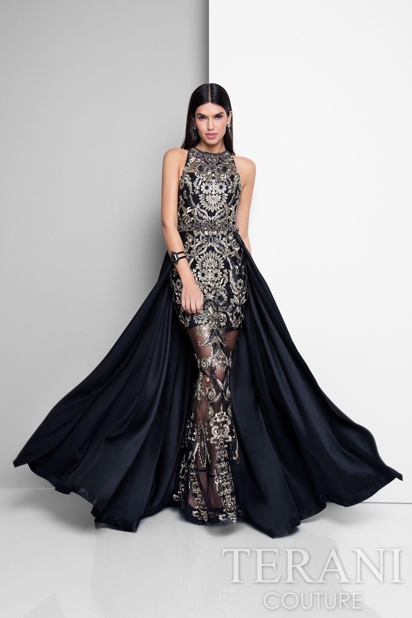 Terani Couture 1712E3648 - Shop more designer prom and evening ...