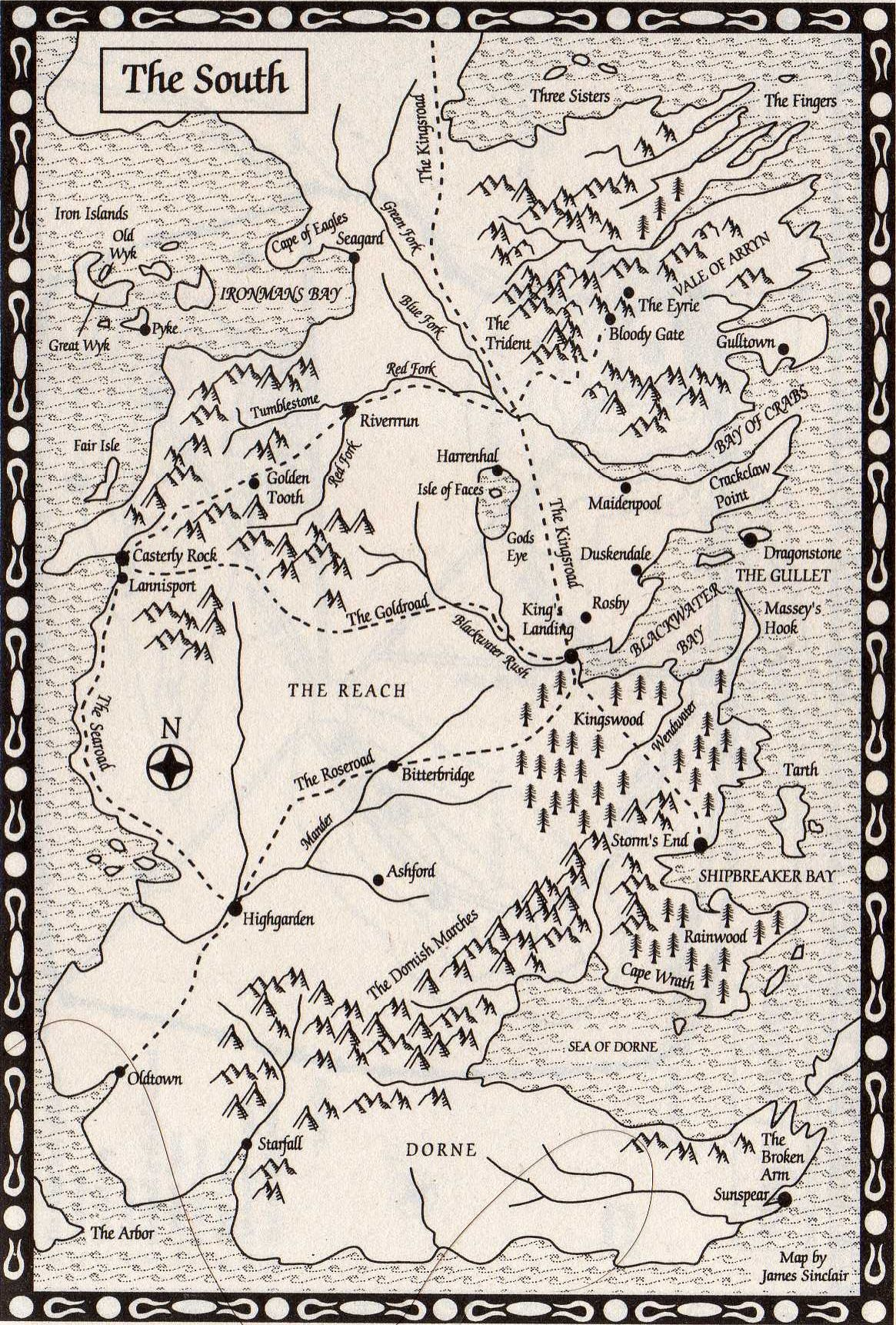 photo regarding Game of Thrones Printable Map named video game of thrones map pdf - Google Seem deal with design and style in just