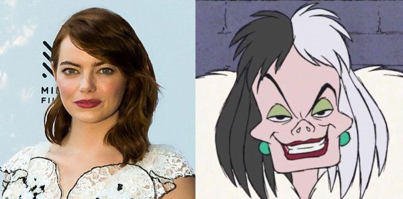 Emma Stone Set To Play Cruella De Vil In Live Action Film Live
