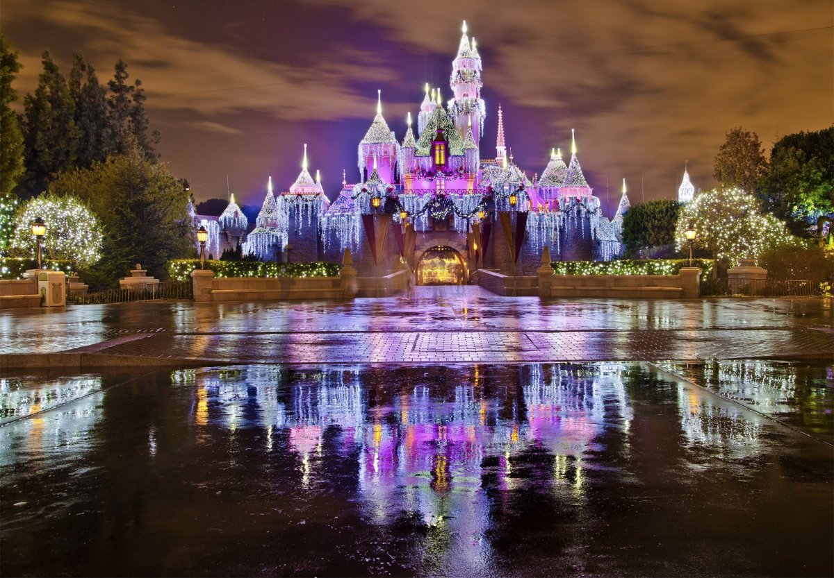 sleeping beauty castle in the winter i must keep this for my sleeping beauty danielle she was aurora in her senior of high school ballet
