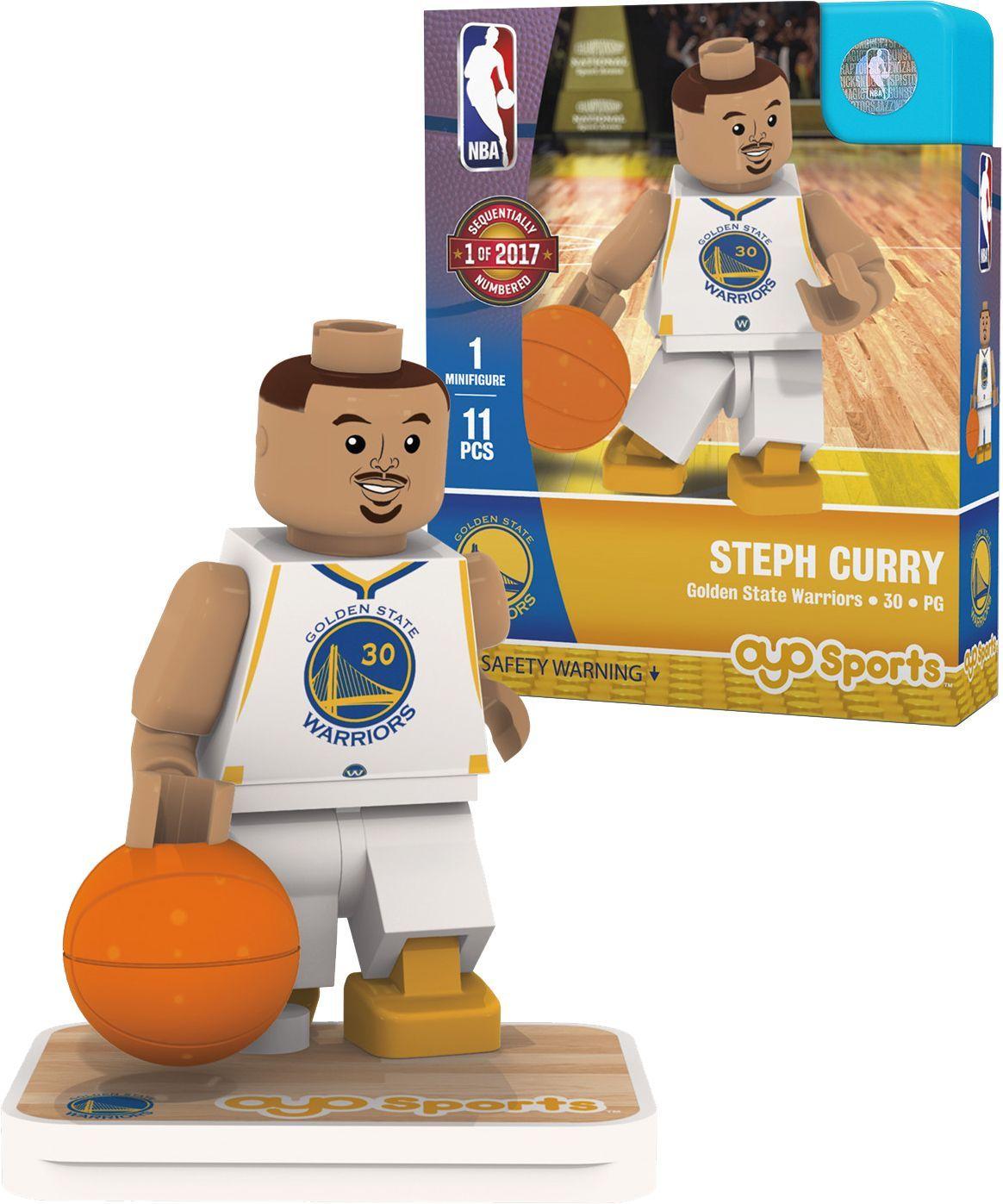 OYO Golden State Warriors Stephen Curry Figurine, Team