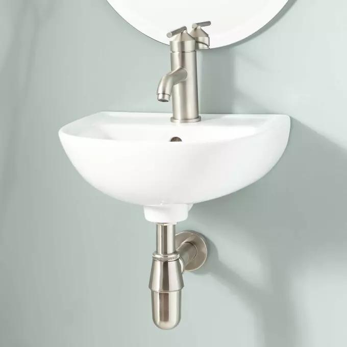 Shawano Wall Mount Bathroom Sink Wall Mounted Bathroom Sinks Sink Glass Sink
