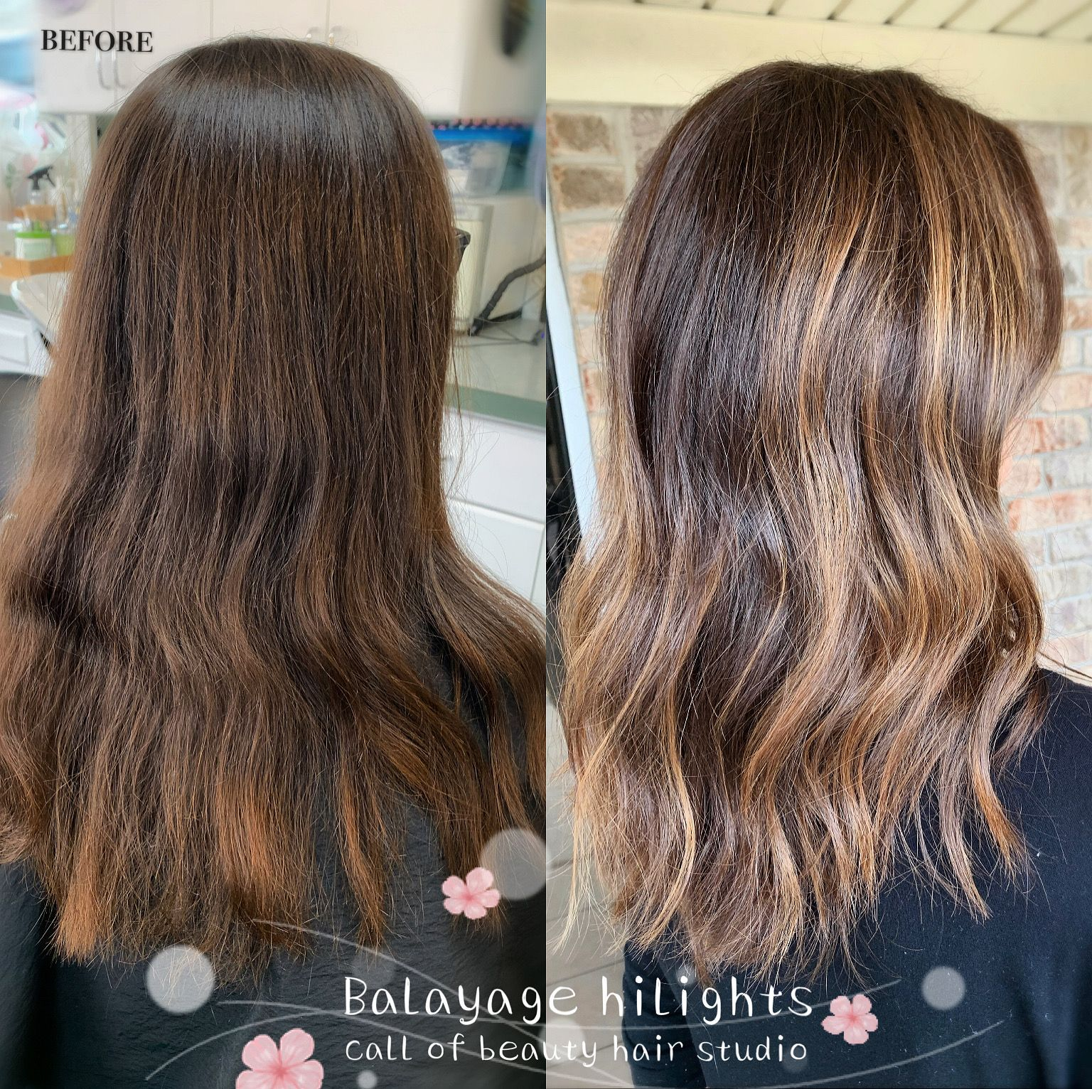 Light Caramel Balayage In 2020 Asian Hair Salon Hair Beauty Beauty