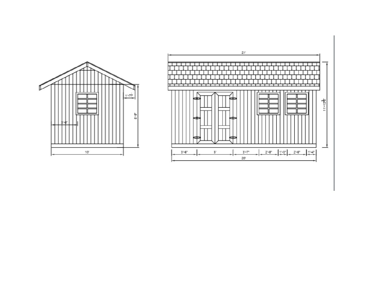 Garden Storage Shed Plans Diy Gable Roof Design Backyard Utility House 10 X 20 Storage Shed Plans Garden Storage Shed Gable Roof Design