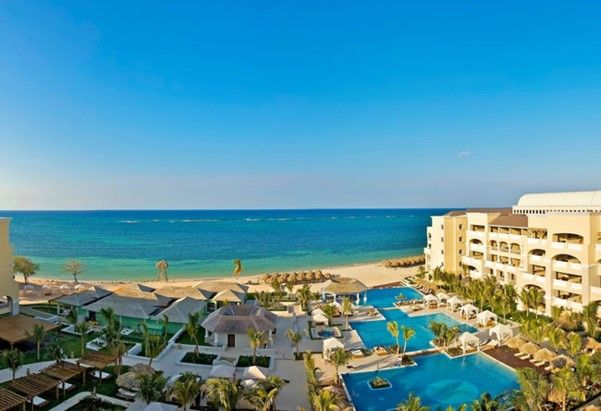 Het Iberostar Grand Rose Hall hotel in Jamaica eindigt op een mooie vierde plaats.