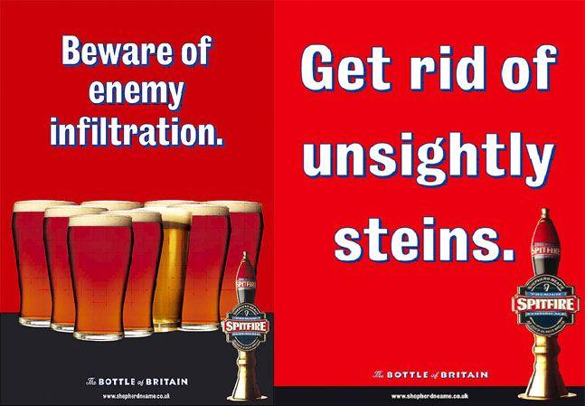 Image result for spitfire beer ads