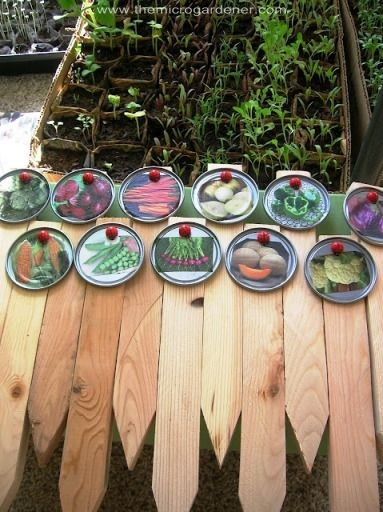 20 Creative Diy Plant Labels Markers Garden Plant Markers Garden Markers Plant Markers
