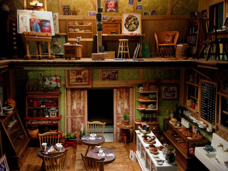 Dollhouse Artist Loft Amy Looks Closer Electric Dollhouse