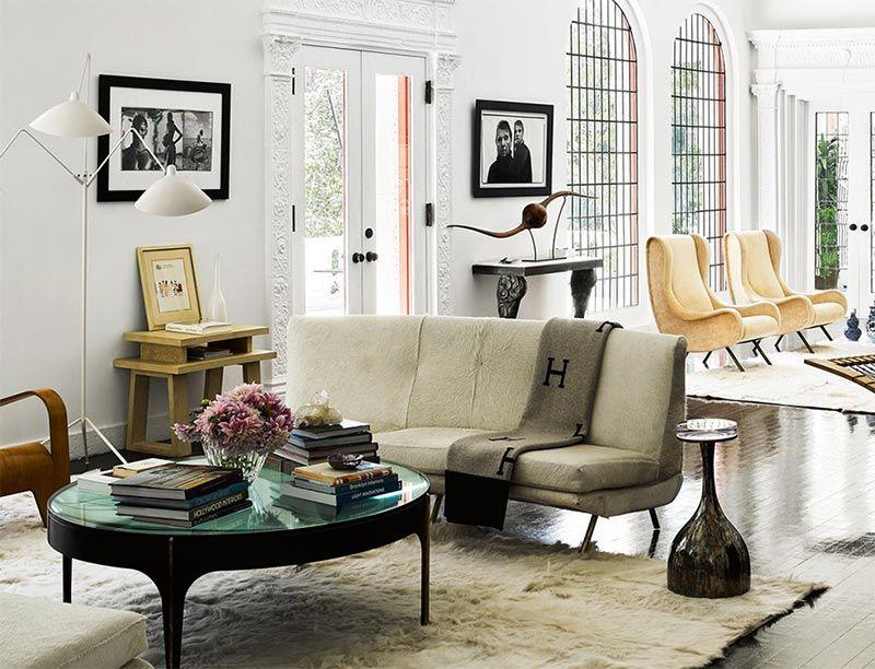 Una casa con decoración ecléctica y llena de contrastes