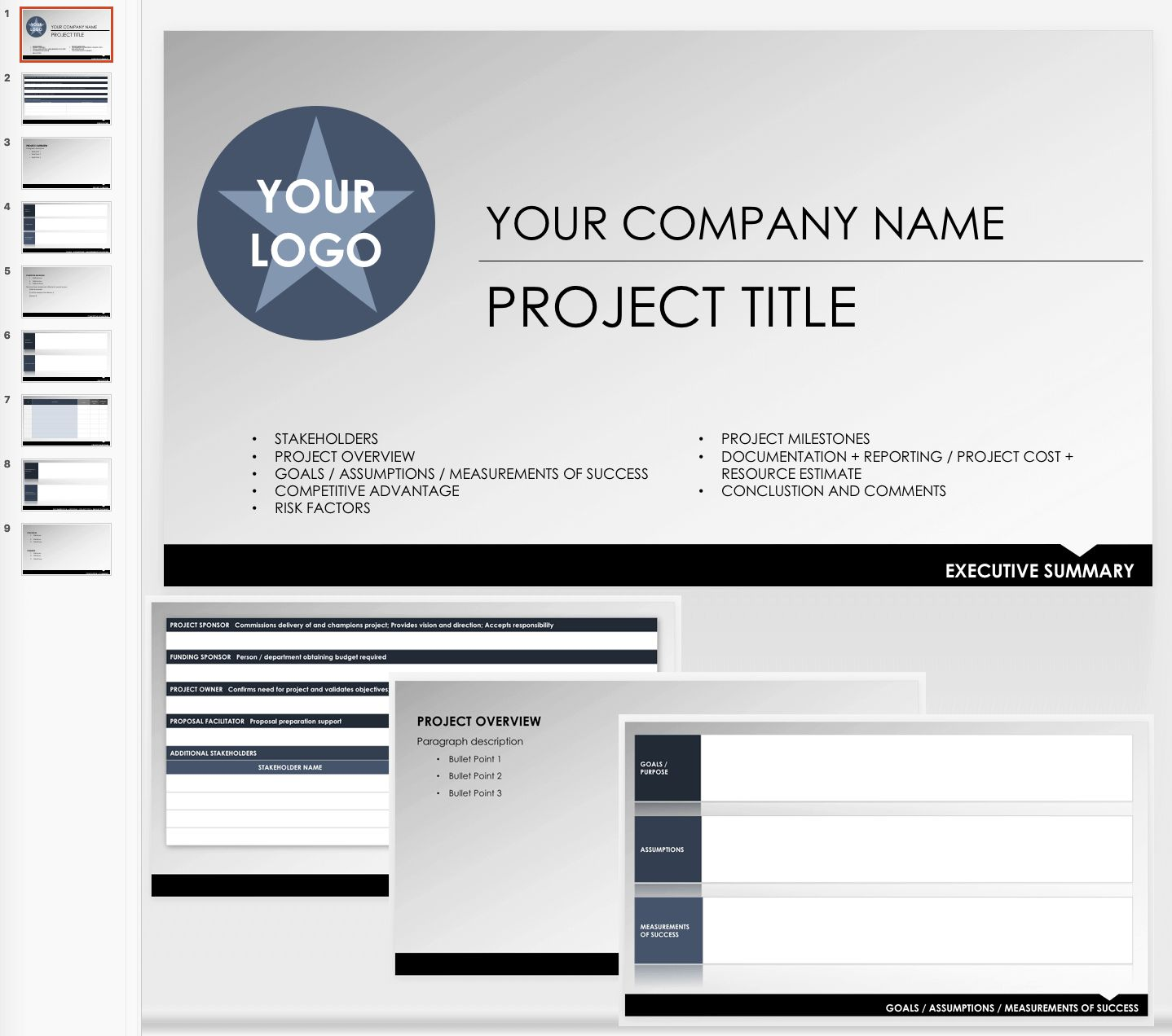 The Outstanding Free Executive Summary Templates Smartsheet For Report To Senior Managemen In 2020 Executive Summary Template Executive Summary Project Status Report