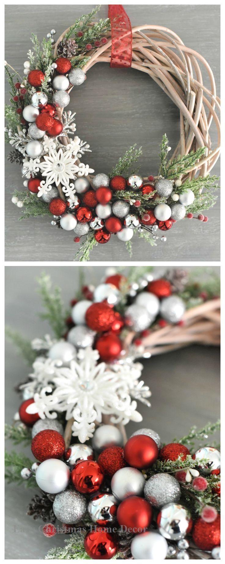 21 Brilliant DIYs for Christmas Wreaths diy