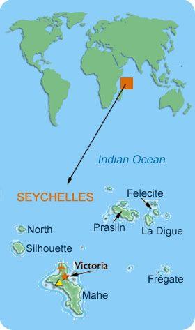 seychellesmap SEYCHELLES AFRICA Pinterest Seychelles and