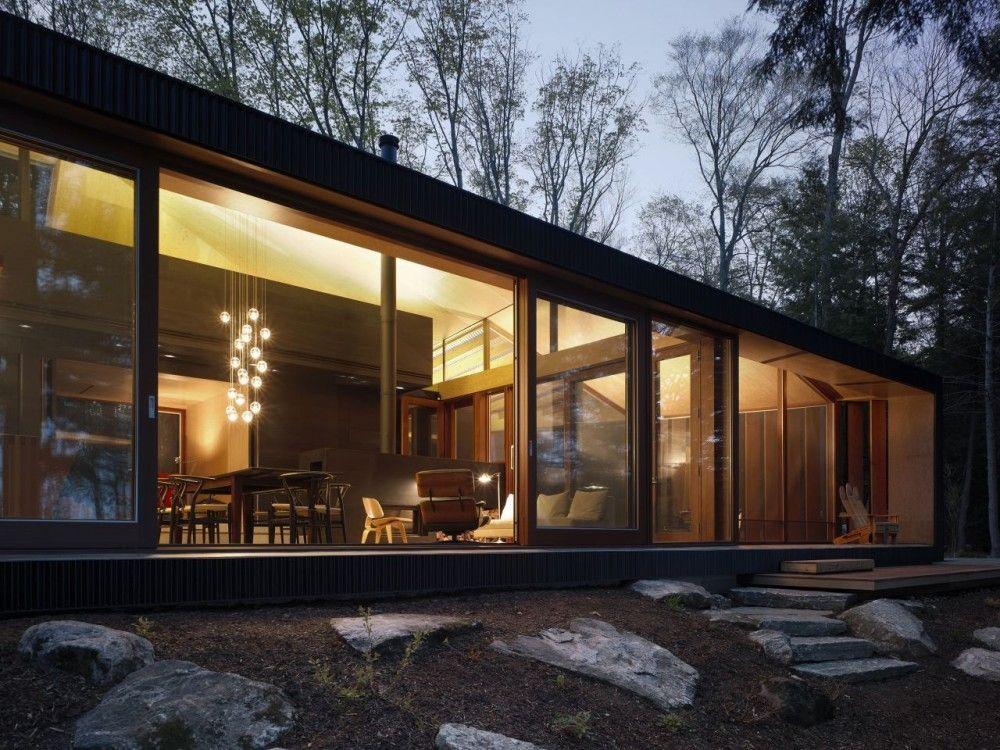 Clear Lake Cottage / MacLennan Jaunkalns Miller Architects © Ben Rahn/A-Frame
