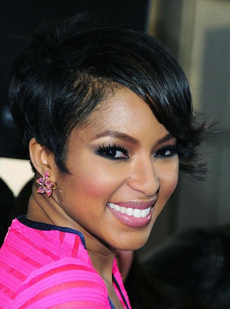 Pictures Of Short Haircuts for Black Women | Short haircuts, Black ...