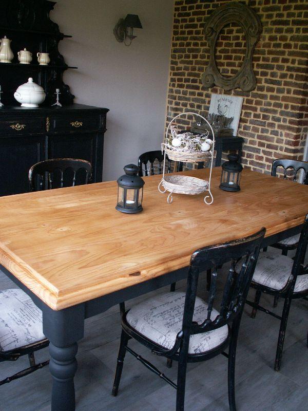 Germaine Buis Et Hortensias Dining Table Et