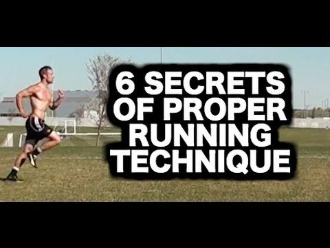 Want to run farther and longer without getting tired? Learn 6 - proper running form