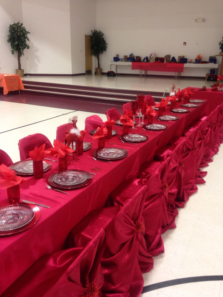 Red Table Decorations