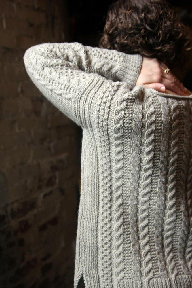 The Oban Sweater | Cable knitting | Pinterest | Tejidos de punto ...