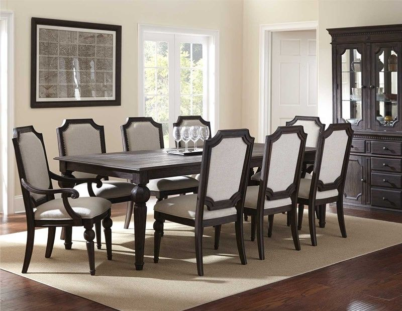 Beautiful Black Formal Dining Room Set To Your Interior Home Stunning Formal Dining Room Collections Inspiration
