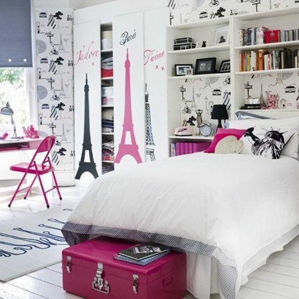 Jugendliches Schlafzimmer modern gestalten cuartos Pinterest - wohn schlafzimmer modern