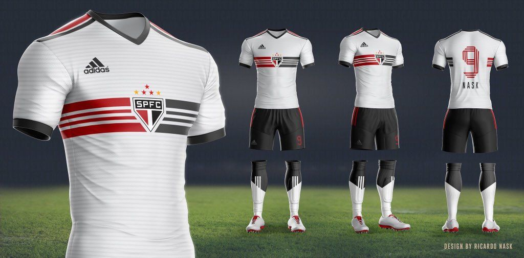 f0fadf02e3939 Camisa feita por torcedor após o anúncio do novo fornecedor de material  esportivo do SPFC