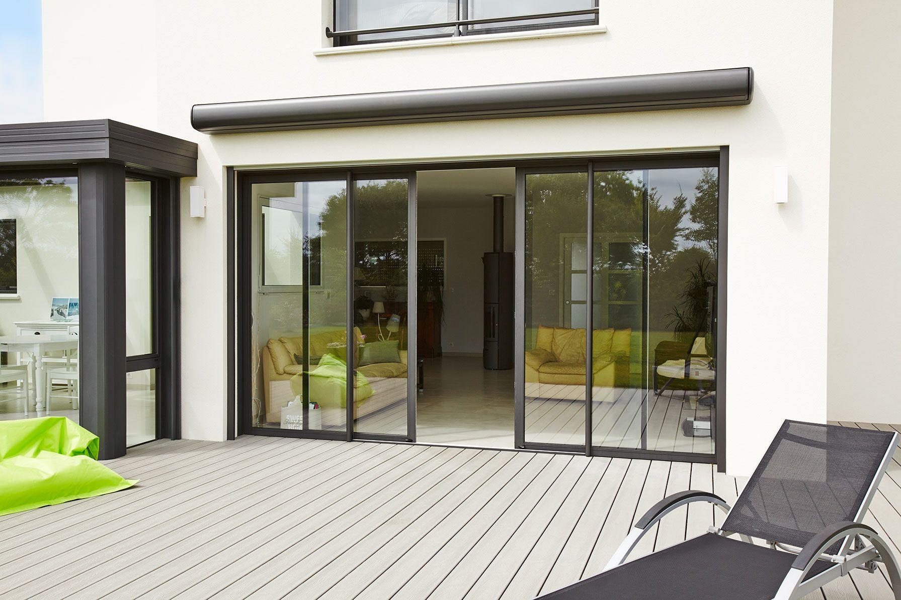 baie aluminium optimo coulissant swao une autre vision du. Black Bedroom Furniture Sets. Home Design Ideas