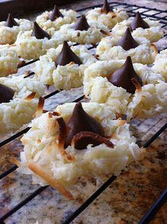 Chocolate and Coconut! Yum!