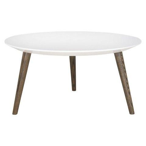 Safavieh Josiah Accent Table - White/Brown