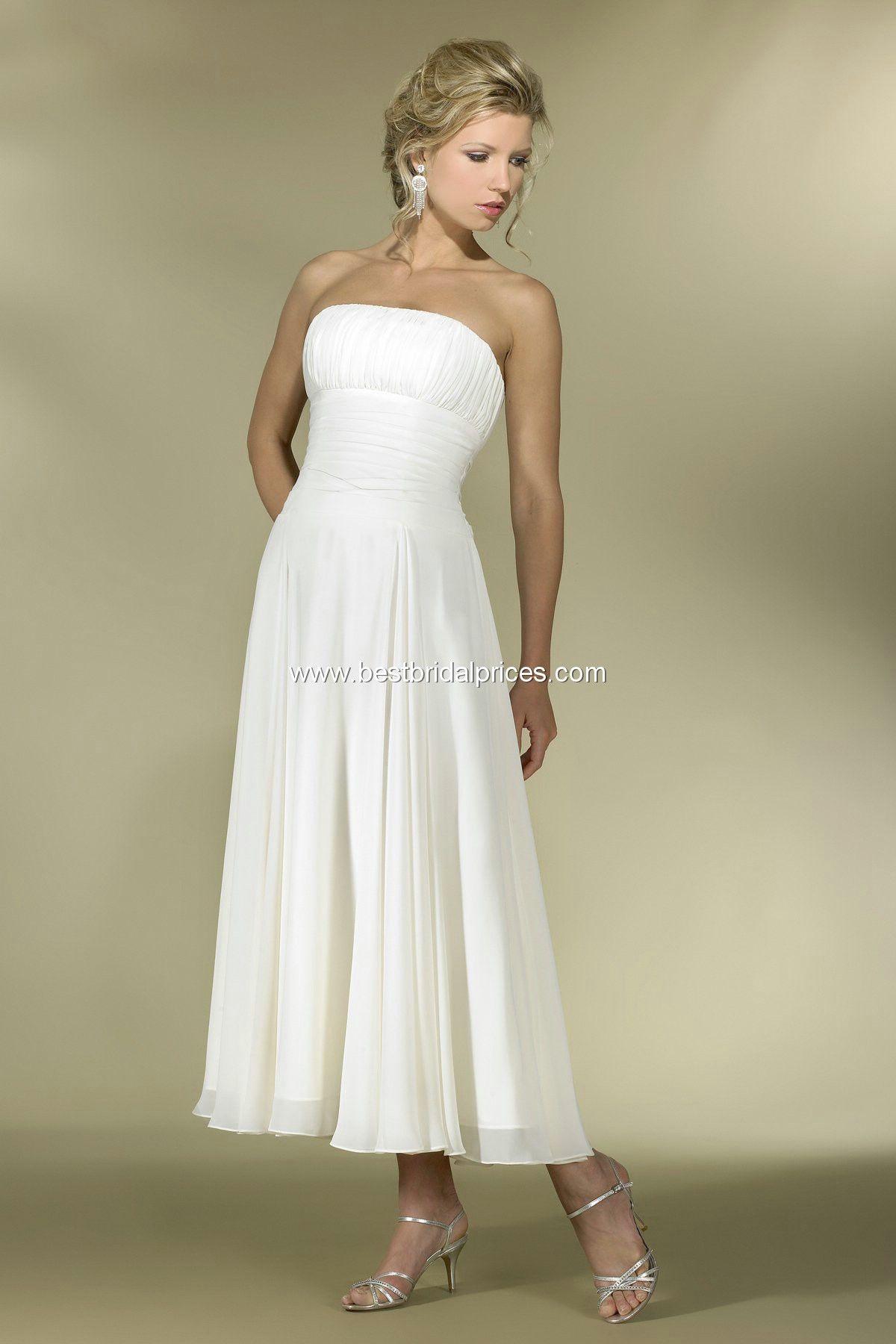 Informal outdoor - country - beach wedding dress. Reasonable price ...