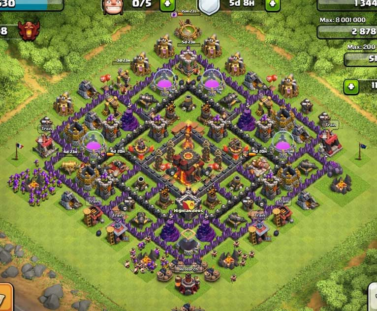 Pin by Angie Culbertson on COC | Clash of clans account