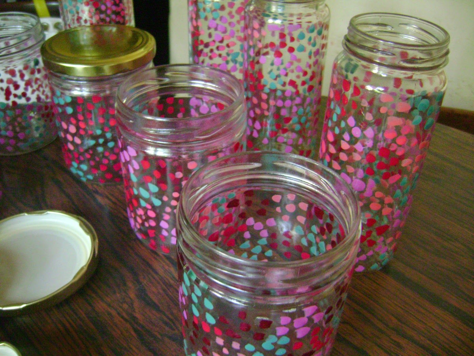 Decoracion con frascos buscar con google ideas para el for Envases de vidrio decorados