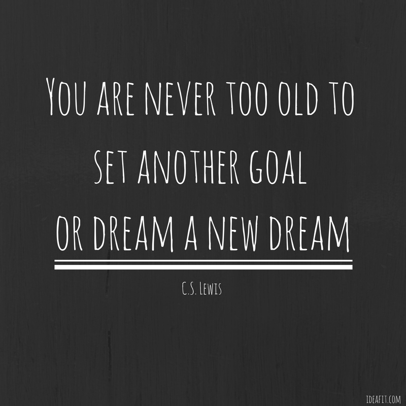 New Gym Motivational Quotes: You Are Never Too Old To Set Another