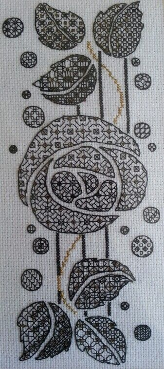 Blackwork From the Maggie Gee Needlework Studio | Blackwork ...