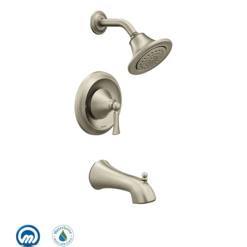 Moen T4503ep Brushed Nickel Faucet Shower Tub Faucet