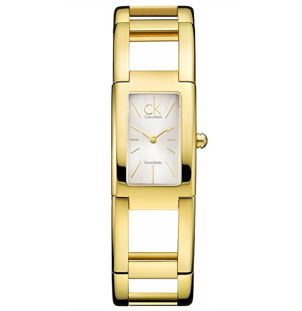 6bcb93ea16e959 Orologio donna solo tempo collezione Dress, bracciale rigido color oro,  colore cassa oro