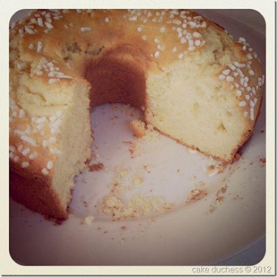 Ciambella Romagnola - Italian Breakfast Cake