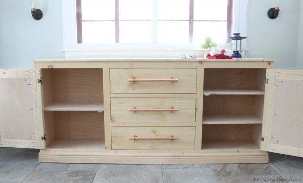 Diy Extra Long Sideboard Diy Sideboard Extra Long Sideboard