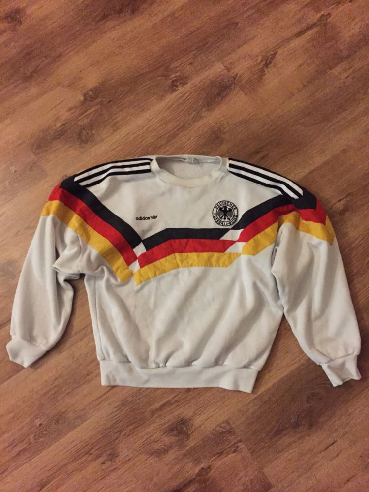 d3f6bcad5 Adidas West Germany Retro Vintage Classic Jumper 1988-1990 £155.00 (21B)
