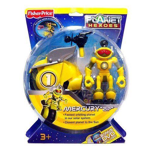 Planet Heroes Action Figure Mercury Zip Fisher-Price,http ...